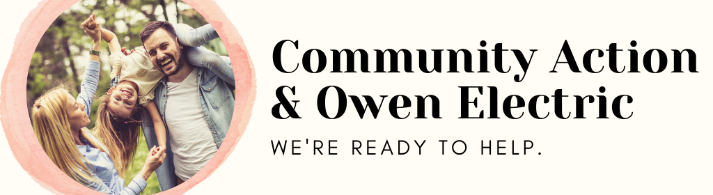 Community Action & Owen Electric Ready to Help
